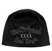 Motorhead Bad Magic Jersey Beanie Hat Official Metal Rock Band Merch New