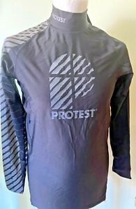 Protest Men's L/S Rash Guard SPF/UPF50+ sizes M,L & XL New with tags was £25😎