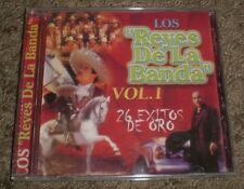 Los Reyes De La Banda Vol 1~RARE 2001 26 Track Latin Compilation CD~FAST SHIP!!!