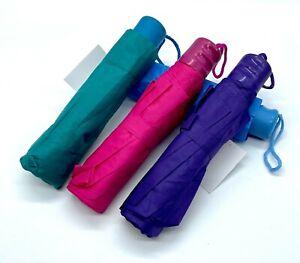 Regenschirm Schirm Taschenschirm mit Schutzhülle Farben wählbar 1m Durchmesser