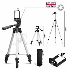 Aluminium Portable Lightweight Tripod Stand For DSLR Camera iPhone SONY Canon