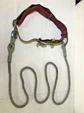 Lineman's Belt With Climbing Rope Vintage