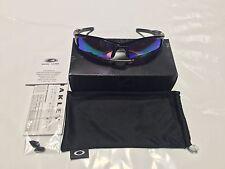 Oakley OO9154-49 Polished Black Prizm Golf Half Jacket 2.0 XL Sungalsses