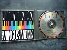 CHARLIE MINGUS THELONIOUS MONK TOP JAZZ DJ-006 Nr MINT CD ALBUM MPO France