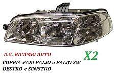 COPPIA FARI FANALE PROIETTORE ANTERIORE DX-SX FIAT PALIO PALIO SW DA 2002 IN POI