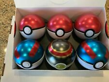 2019 Spring Poke Ball Collector''s Tins Case of 6 Tins (Pokemon) Factory Sealed
