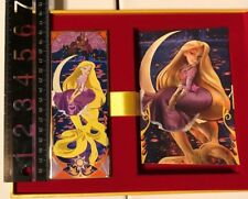 Disney Acme Hotart Princess Mucha Inspired Rapunzel LE 100 Pin and Lithograph