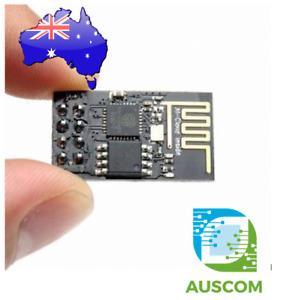 ESP-01S ESP8266 Serial WIFI Wireless Transceiver Module DC 3.0~3.6V 2.4GHz Black