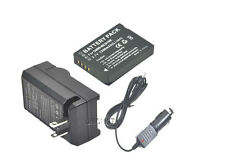New DMW-BCG10 BCG10GK Battery + Charger for DMC-TZ18K TZ10N ZS19K ZR1W ZR1W ZS1