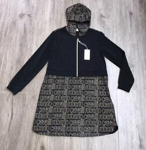 Roberto cavalli girls Hooded Dress  Age 12 Yrs BNWT RRP £254 ‼️‼️