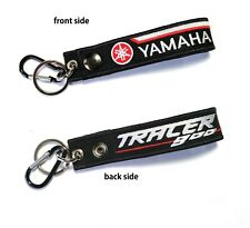 Yamaha Tracer 900 Racing Biker Motorcycle Embroidered Belt Tag Keychain