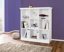 Regal Wohnregal Standregal Raumteiler Bücherregal Wohnzimmer Büro Landwood weiß