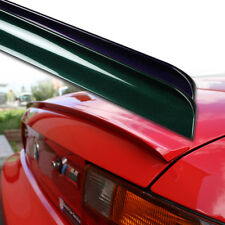Fyralip Painted Trunk Lip Spoiler For Subaru WRX STI GV Sedan 10-14 Facelift
