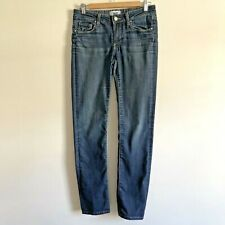 PAIGE Skyline Straight Jeans W28 L31 Blue Denim