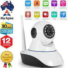 Wireless HD CCTV Security Night Vision IP PTZ Camera WiFi Baby Monitor 720P