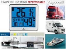 LOWELL JD9028 TERMOMETRO ed IGROMETRO UMIDITA' PROFESSIONALE BARCA CASA CAMPER