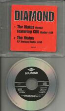 d.i.t.c. DIAMOND w/ CRU The Hiatus REMIX & RADIO TRK PROMO DJ CD Single ditc
