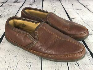LL BEAN Elkhide ELK Leather Slippers Shoes Men's Size 11 M