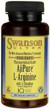SWANSON AjiPure L-Arginine with L-Citrulline (Cardiovascular Health) 60 VCaps
