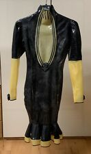 Westward Bound DAUPHINE DE FEMME LATEX RUBBER DRESS UK 10