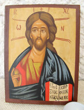 Hand Painted Icon of Jesus Christ Pantokrator the Sovereign / God Almighty