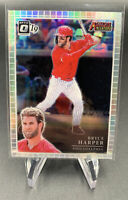 Bryce Harper 2019 Donruss Optic Silver Prizm Holo Refractor Phillies