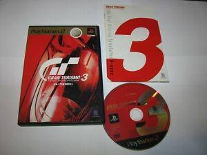 Gran Turismo 3 A-Spec (Mega Hits) Playstation 2 PS2 Japan import US Seller