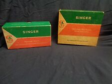 Vintage Singer Sewing Machine Attachments & Discs for Class 600 & 603