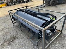 New Wolverine Skid Steer Hydraulic Vibratory Compact Roller Dirt Asphalt R