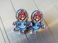 Super Mario Land 2 Spaceman Astronaut - Metal Enamel Pin Nintendo - Collector