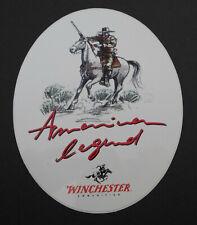 Aufkleber Winchester American Legend Arms Company Waffen Munition Cowboy