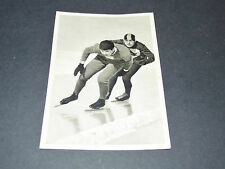 LOS ANGELES 1932 J.O. OLYMPIC GAMES OLYMPIA PATINAGE VITESSE EDDIE SHEA USA