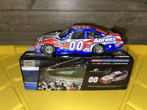 Action 2010 David Reutimann Aaron's Armed Forces Foundation Camry 1/24 DIN 5