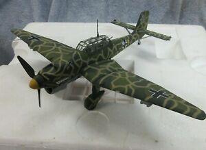 Armour Franklin Mint B11E376, Junker JU87 Stuka B Factory Camo For Eastern Front