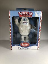 Nib ! Rudolph The Red Nosed Reindeer Bobblehead Bumble Abominable Snowman 2002