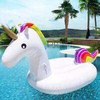 Flotador colchoneta Gigante hinchable Unicornio para piscina playa diversion