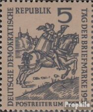 DDR 600I (complete issue), äpfelndes Horse (Field 24) used 1957