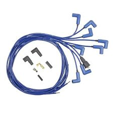 Accel 7541B Universal 5mm 300+ Ferro-Spiral Race Spark Plug Wire Set, Blue USA