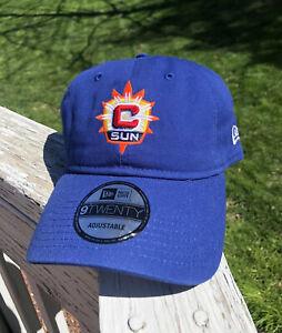 Connecticut Sun New Era Adjustable 9TWENTY Hat WNBA Cap Basketball Mohegan Sun