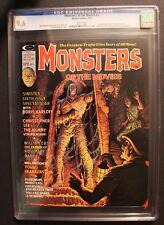 MONSTERS OF THE MOVIES 6 MUMMY 1975 Marvel Magazine O'BRIEN Frankenstein CGC 9.6