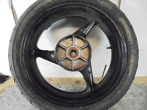 Honda CBR 900 Fireblade RR  2002  rear wheel with tyre