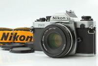 [N MINT] Nikon NEW FM2 N FM2N SLR 35mm Film Camera Ai-s 50mm f1.8 Lens JAPAN