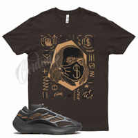 Brown BEN FRANKLIN T Shirt for Yeezy 700 V3 Clay Brown 350 380 500 Mocha Wheat