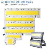 1x COB LED Panel Lampe Strahler Spot Licht Weiß 30/50/70/100W COB Spot Birne