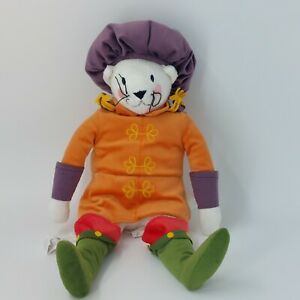"""IKEA Ridderlig Musketeer  Soft Toy 18"""" Renaissance knighy puss in Boots mouse"""