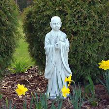 St101151 herrlicher buddhistischer Mönch Tempelwächter Buddha Steinguss