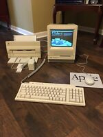 Macintosh SE/30 Working with sound and floppy drive Vintage Apple