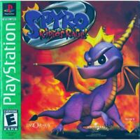 Spyro 2: Ripto's Rage! Greatest Hits PlayStation 1 PS1 Game Complete *CLEAN VG