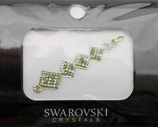 Bindi bijoux piel boda frente strass cristal de Swarovski verde INHC 3612