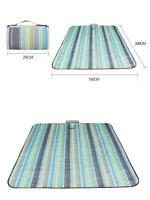 Strandmatte sandfrei Picknickmatte Isoliert Campingmatte Decke faltbar 150x200